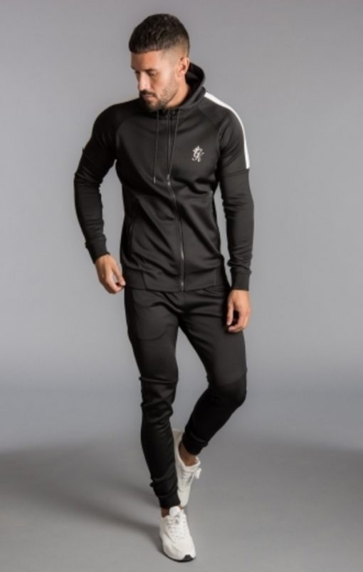 core plus poly tracksuit bottoms black p14603