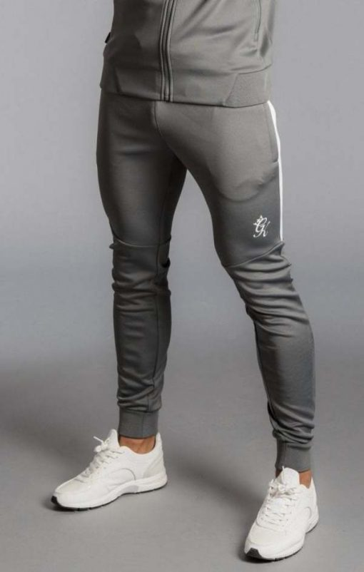 core plus poly tracksuit bottoms dark grey p14611