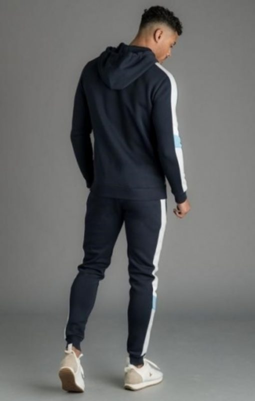 gym king capone tracksuit bottoms navy nights p16589