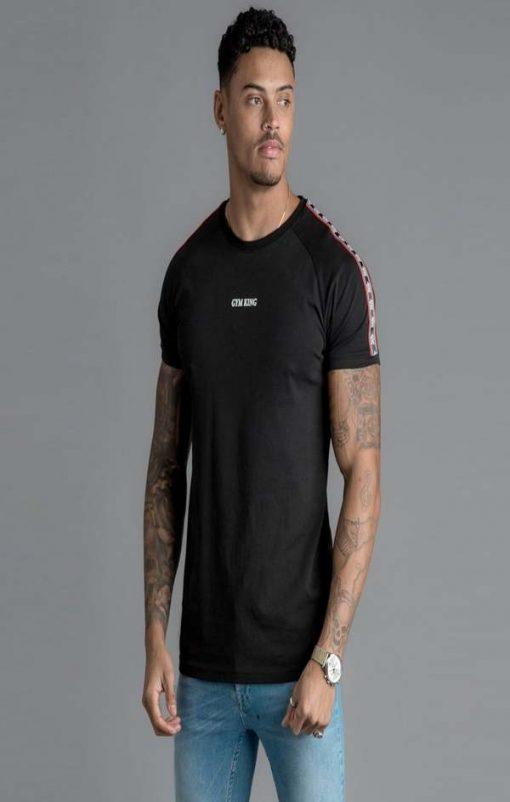 gym king la t shirt black p62457