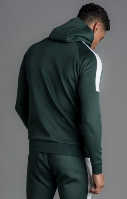 core poly plus tracksuit top forest green p15811
