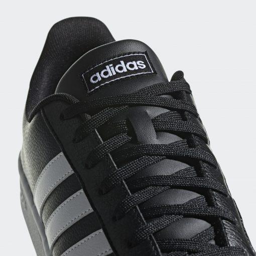 Grand Court Shoes Black F36393 41 detail