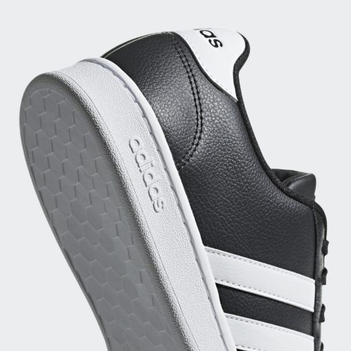 Grand Court Shoes Black F36393 42 detail