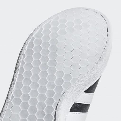 Grand Court Shoes Black F36393 43 detail