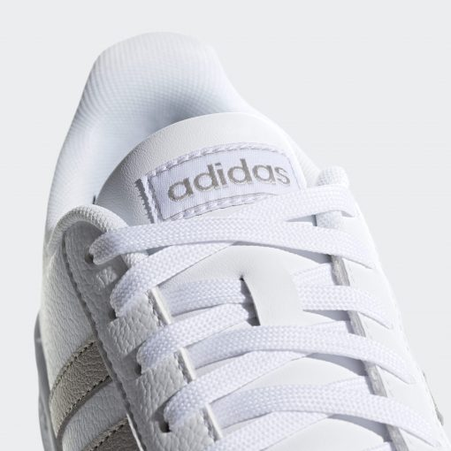 Grand Court Shoes White F36485 41 detail