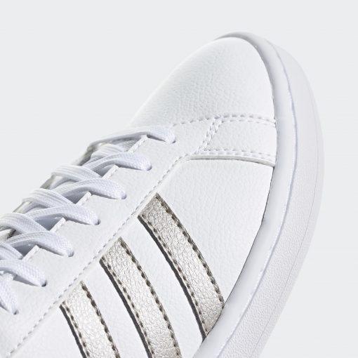 Grand Court Shoes White F36485 42 detail