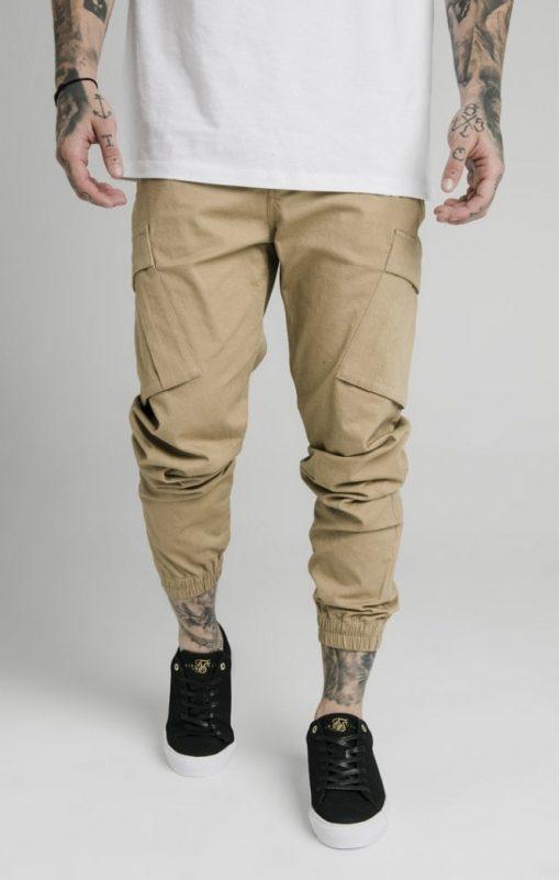 siksilk cargo pants beige p4776 45009 medium