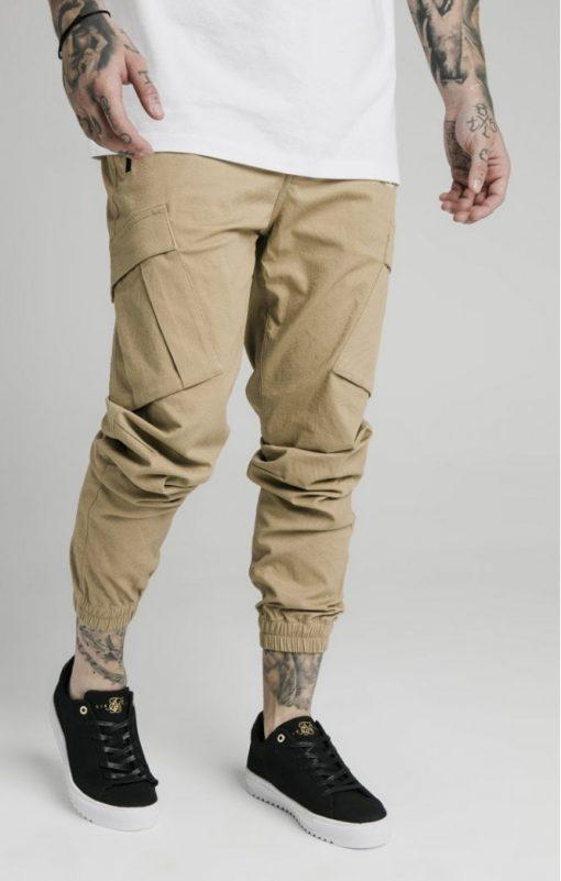 siksilk cargo pants beige p4776 45010 medium