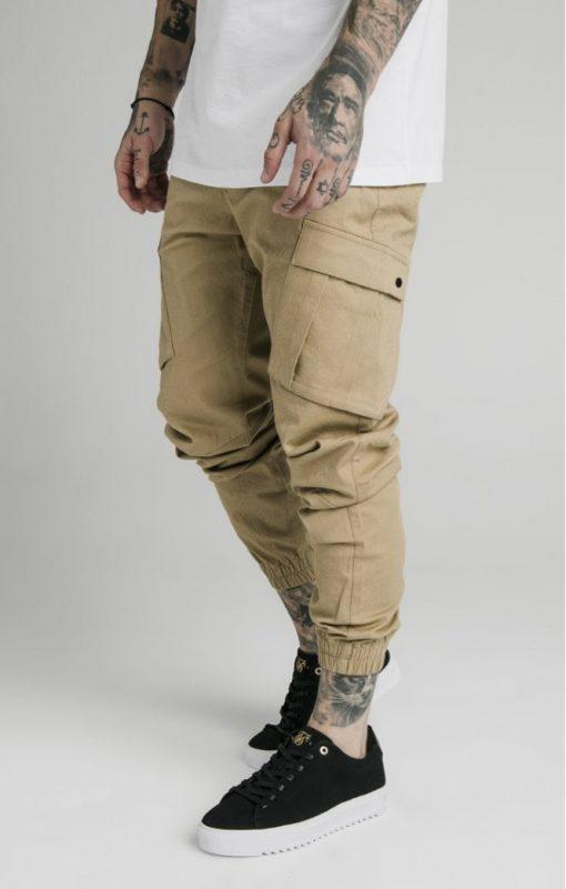 siksilk cargo pants beige p4776 45011 medium