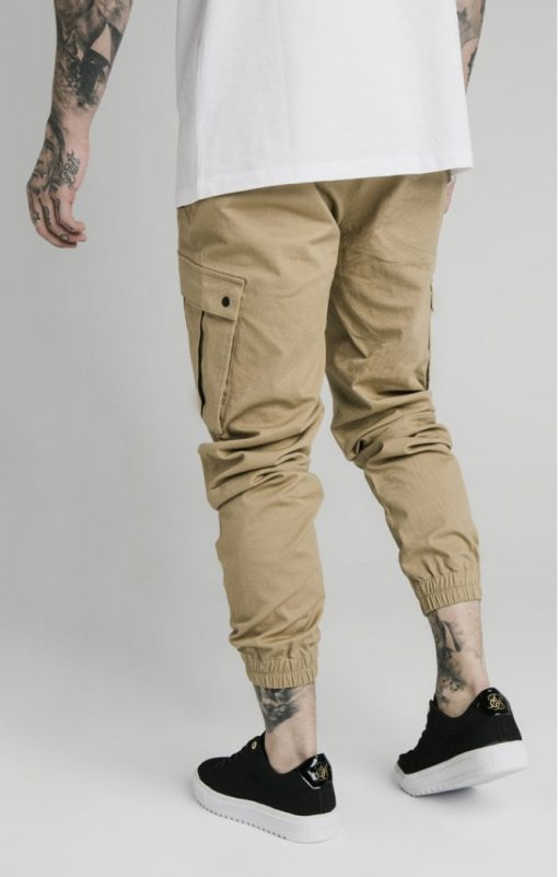 siksilk cargo pants beige p4776 45012 medium