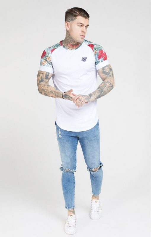 siksilk curved hem raglan tee white p4647 43357 medium