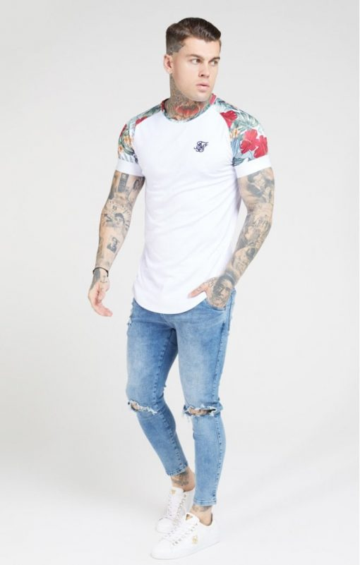 siksilk curved hem raglan tee white p4647 43358 medium