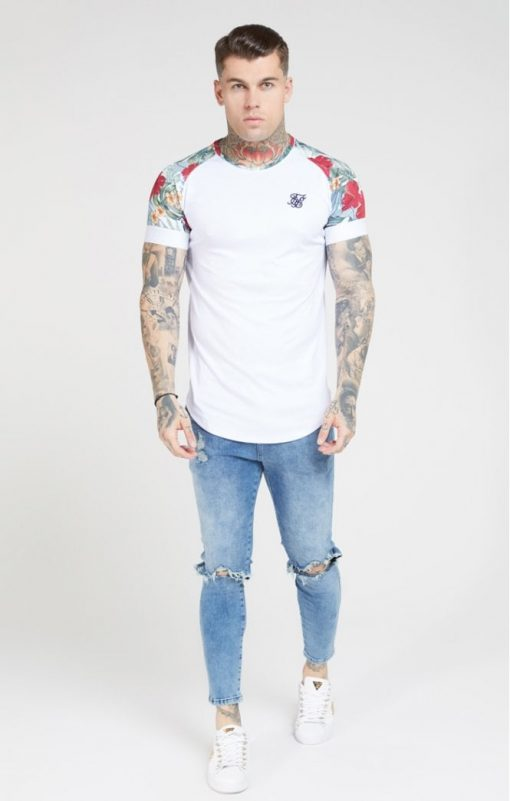 siksilk curved hem raglan tee white p4647 43359 medium