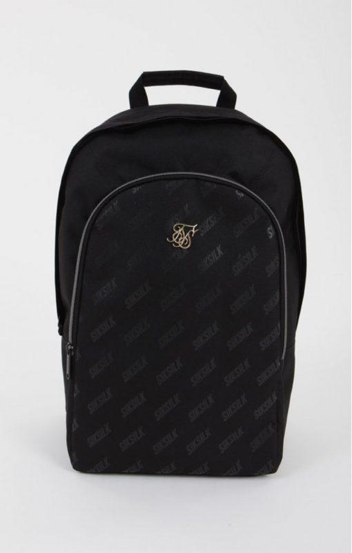 siksilk diagonal repeat backpack black p5205 50371 medium