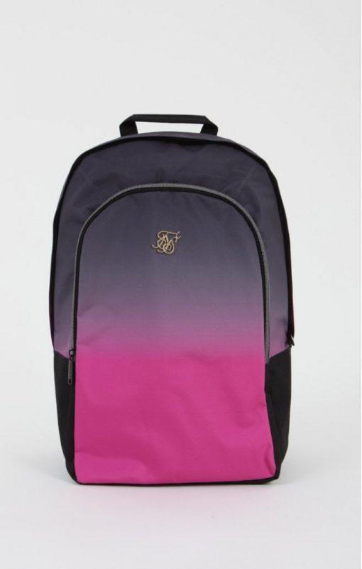 siksilk fade backpack grey pink p5198 50343 medium