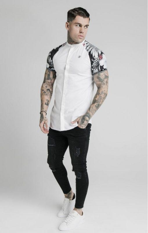siksilk s s floral raglan tech shirt white floral p5167 49907 medium
