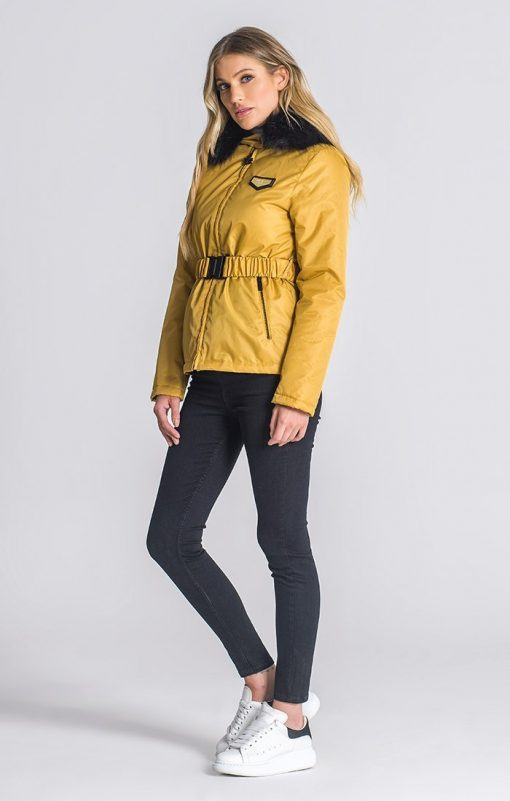 Gold Belt Jacket