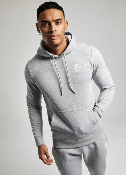 gym king basis pullover hoodie and jogger grey marl  29 2 836e88e2 f448 4c7b b46d