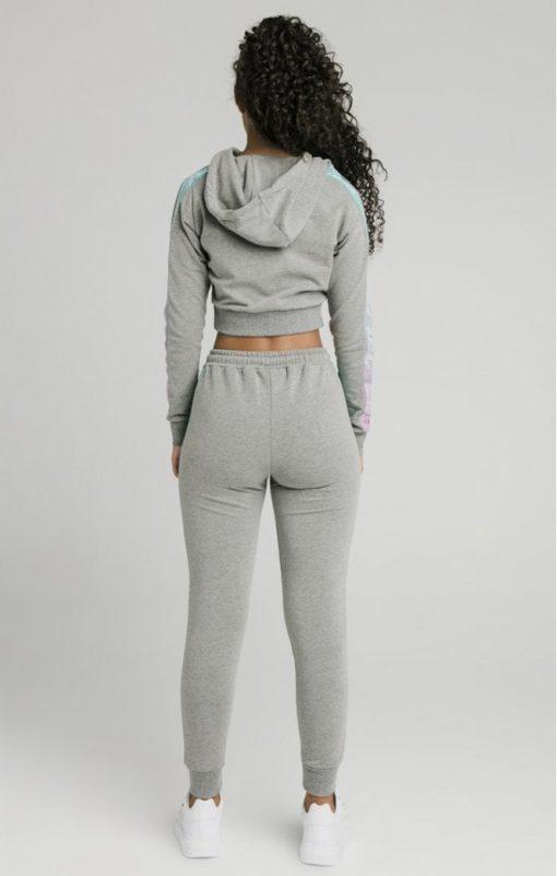 siksilk fade runner track pants grey marl p5251 50940 medium