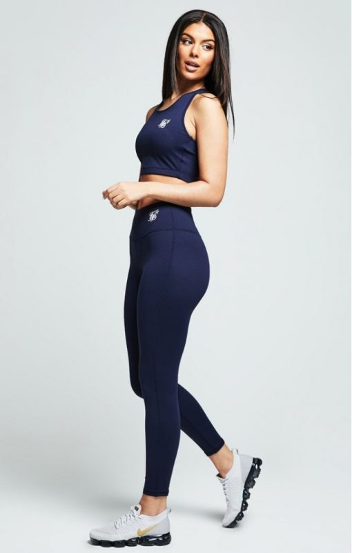 siksilk gym leggings navy p4868 46245 medium