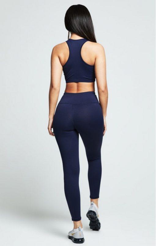 siksilk gym leggings navy p4868 46247 medium