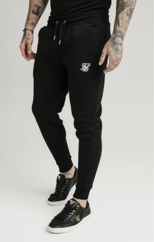 siksilk muscle fit jogger black p5428 53337 medium