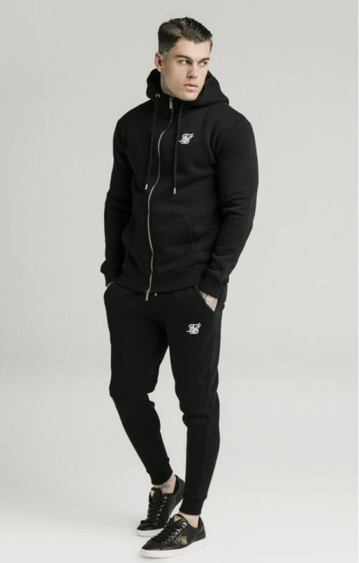 siksilk muscle fit jogger black p5428 53339 medium