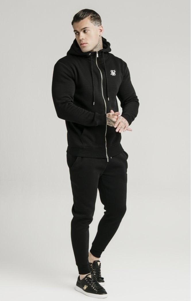 siksilk muscle fit jogger black p5428 53341 medium