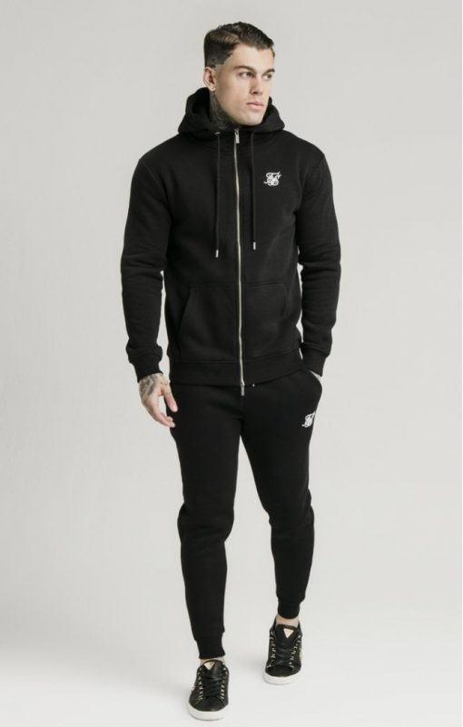 siksilk muscle fit jogger black p5428 53342 medium