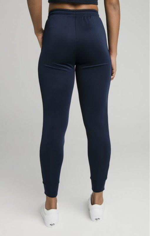 siksilk rainbow runner track pants navy p5344 52240 medium