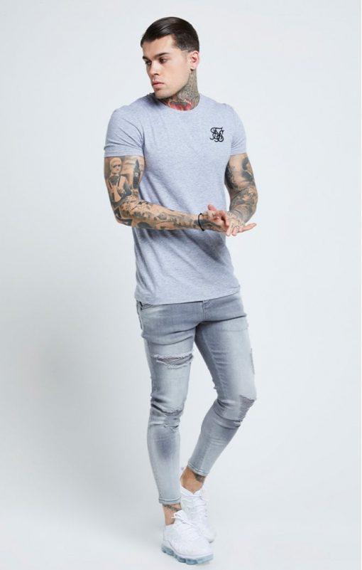 siksilk distressed skinny jeans washed grey p6081 61036 medium
