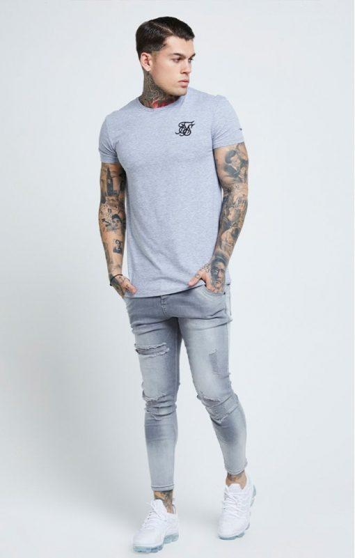 siksilk distressed skinny jeans washed grey p6081 61037 medium