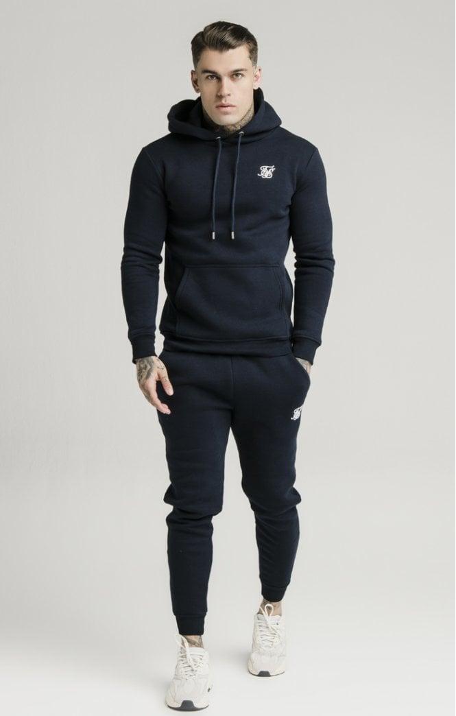 siksilk muscle fit jogger navy p5432 53368 medium