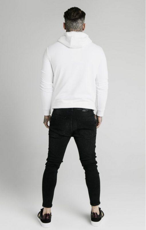 siksilk rhinestone creep overhead hoodie white p5519 54529 medium