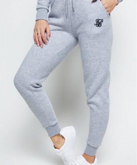siksilk track pants grey marl p5562 55102 medium