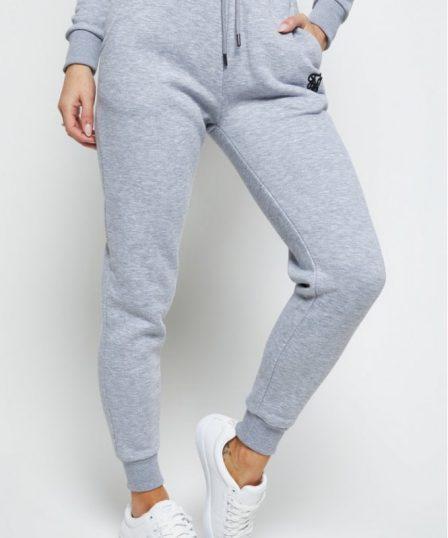 siksilk track pants grey marl p5562 55103 medium