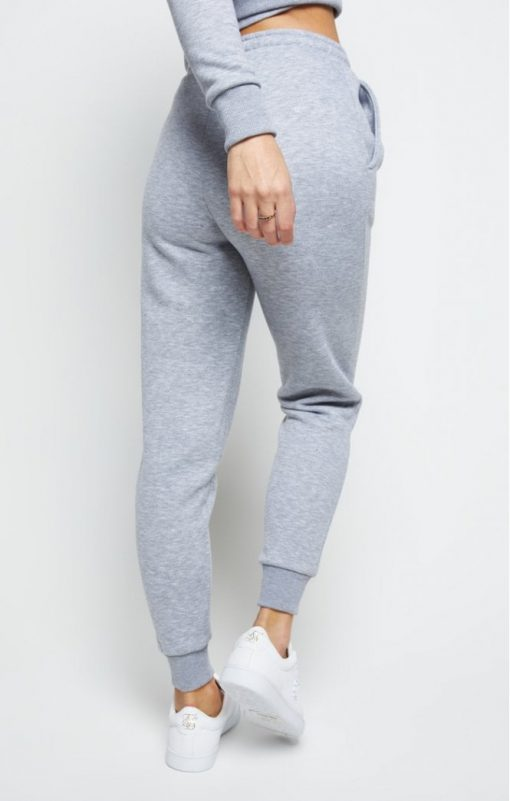 siksilk track pants grey marl p5562 55105 medium
